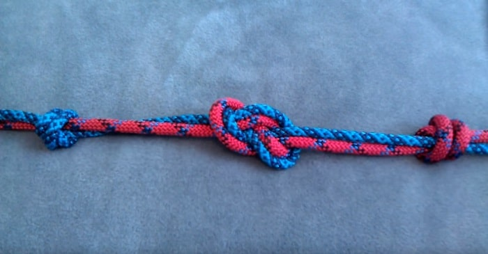 Double Figure-8 Fisherman's climber Knot