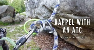 How to rappel with an ATC