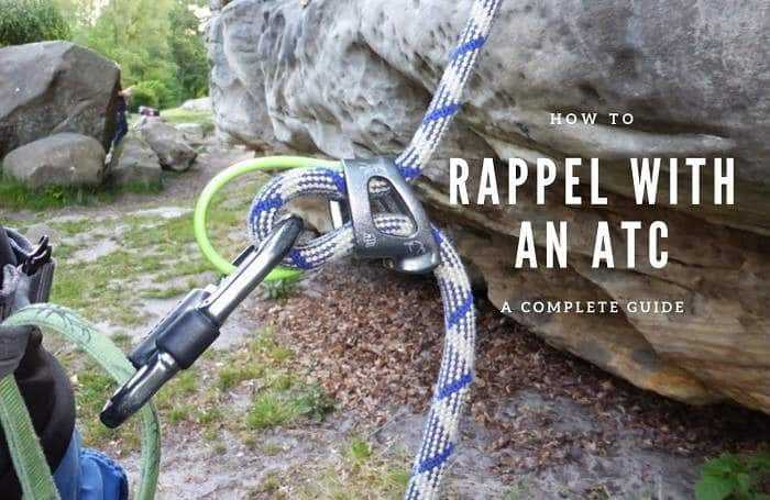 How to rappel with an ATC belay device