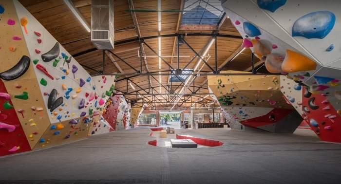 The Spot Bouldering gym in Denver