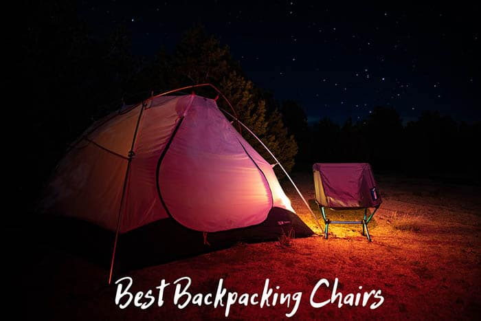 Backpacking Chair and Tent