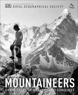 Mountaineers Great tales of bravery and conquest mountaineering book cover