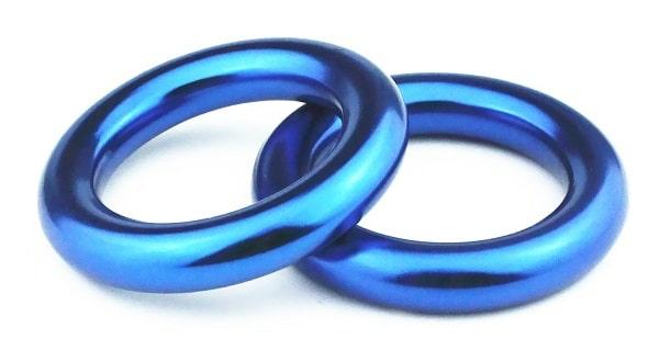PROND aluminum rappel ring