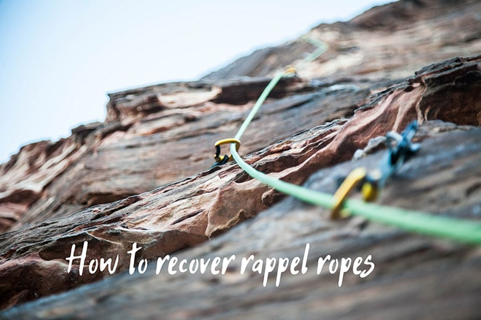 Recovering the Rappel Rope