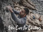 Skin care for climbers